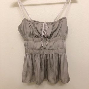 Urban Outfitters Kimchi Blue Gray Top